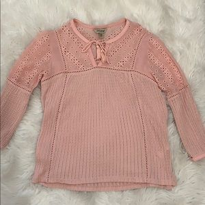 Lucky Brand Pink Blouse, Size XS